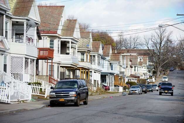 Furman Street, where a recent break-in robbery occurred, on Tuesday, Nov. 18, 2014, in Schenectady, N.Y. (Cindy Schultz / Times Union) Photo: Cindy Schultz / 00029533A