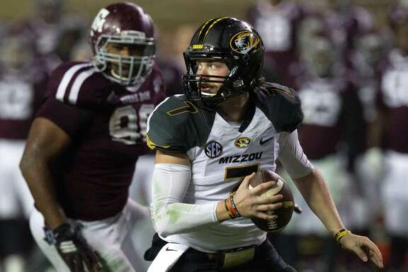Missouri's Maty Mauk was the latest quarterback to leave Kyle Field feeling he was anything but under the gun when facing the A&M defense.