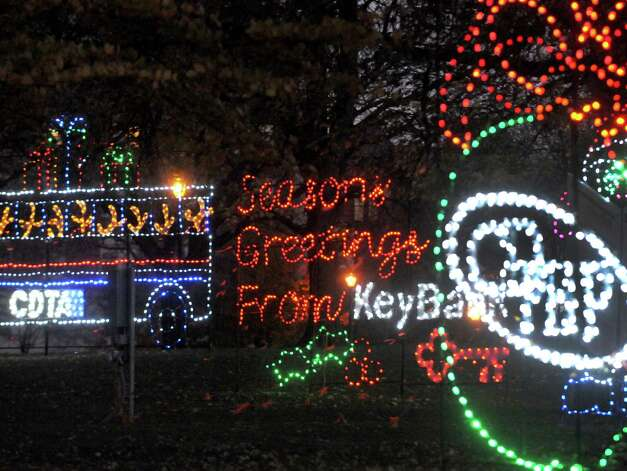 Lights are on in the park for the holiday season following the kickoff of holiday lights in the park at Washington Park on Tuesday Nov. 18, 2014 in Albany, N.Y. (Michael P. Farrell/Times Union) Photo: Michael P. Farrell / 00029530A