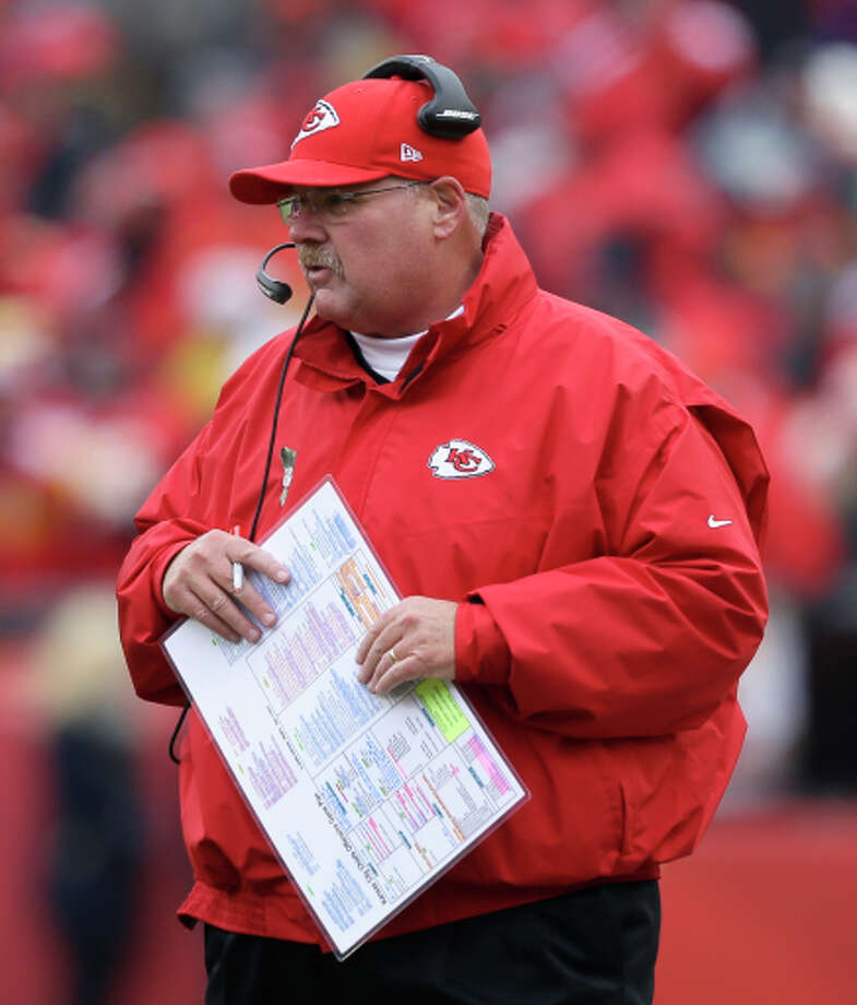 If Chiefs head coach Andy Reid says throw out the records, who's to argue? Photo: Charlie Neibergall / Associated Press / AP
