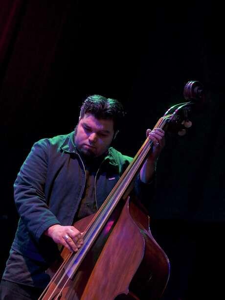 Alt-Tejano musician Nick Gaitan: a white swan. Photo: Jay Dryden, For The Houston Chronicle / copyright 2014 Jay Dryden