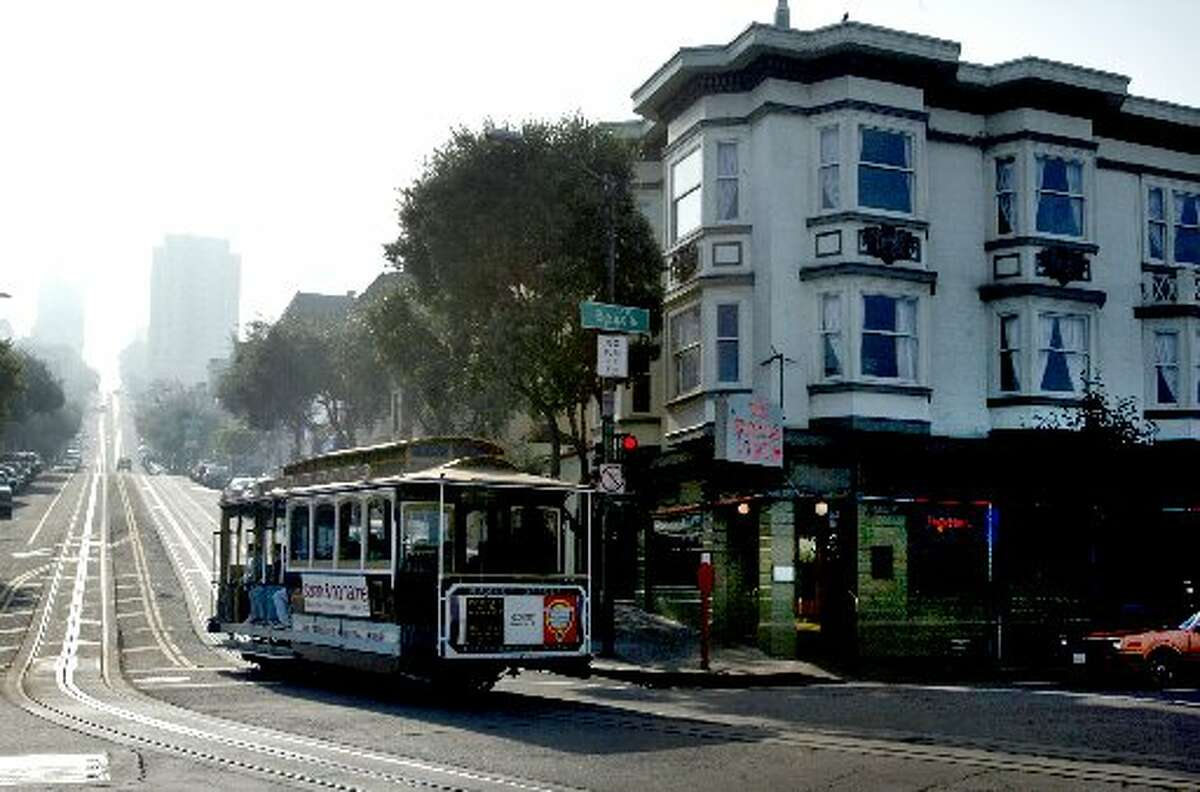 The bar is as iconic as the cable cars that rumble by on Hyde Street.