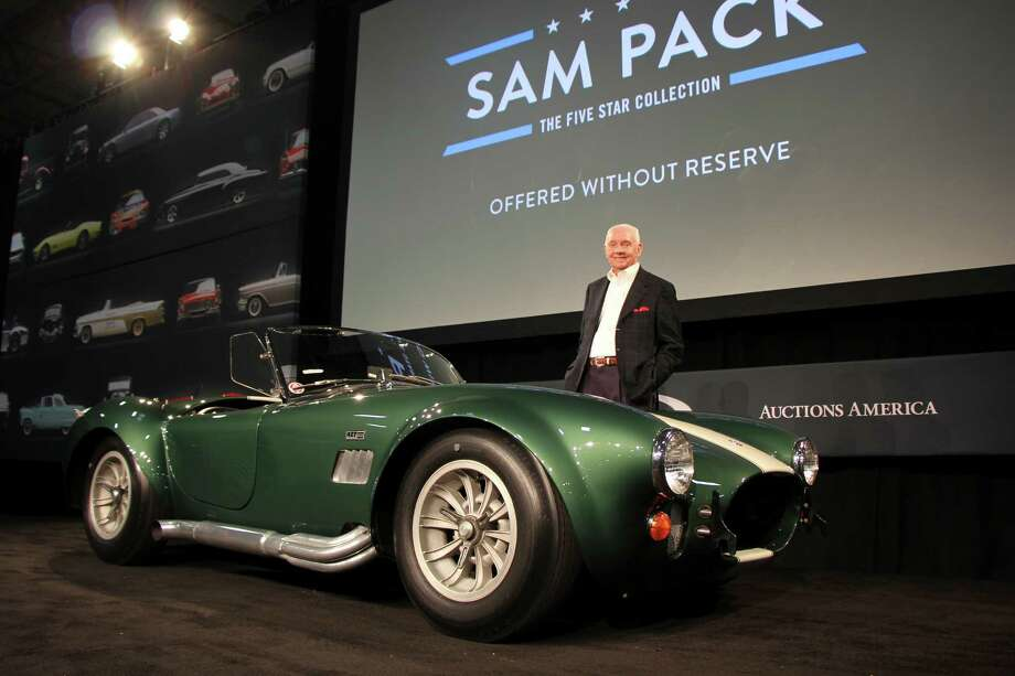 Texas Ford dealer and car collector Sam Pack put 132 of his 473 cars on the block this week, thinning his awesome collection. The cars sold for a whopping $11.5 million.Photos: See the Top 20 highest priced cars from the auction. Photo: RM Auctions