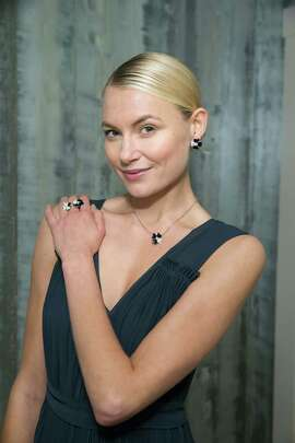 Rosa Korhonen at a cocktail reception hosted by Neiman Marcus Union Square and Van Cleef & Arpels on November 13, 2014.