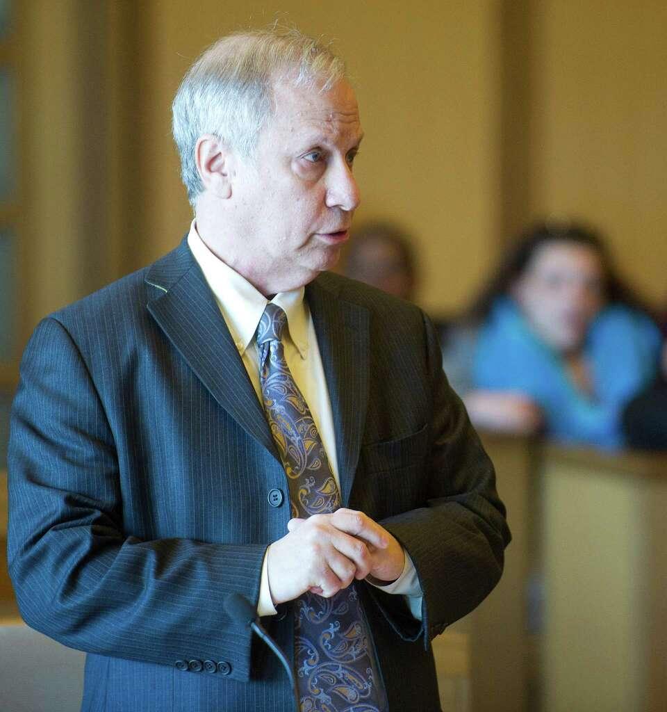 Stateu0027s Attorney David Cohen Speaks At State Superior Court In Stamford,  Conn., Where. Stamford High School Principal Donna Valentine ...