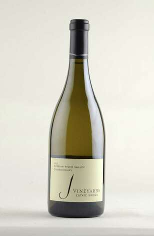 J Vineyards 2012 chardonnay Thursday Oct. 9, 2014, at the Times Union in Colonie, N.Y. (Will Waldron/Times Union) Photo: WW