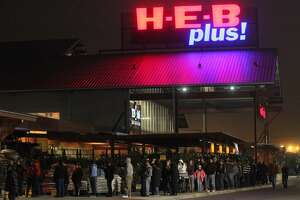H-E-B opens at 6 a.m. on Thanksgiving Day. It will close its doors at 2 p.m. before reopening on Black Friday at 6 a.m.