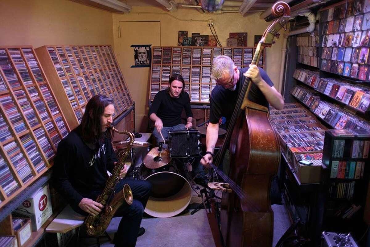 Saxophonist Seth Paynter, drummer Joe Hertenstein and bassist Thomas Helton are the Core Trio