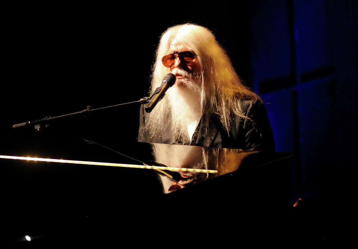 Piano player Leon Russell, known in his later years for flowing white hair and a long beard, toured with multiple musicians and made a comeback in 2010 with the aide of Elton John.