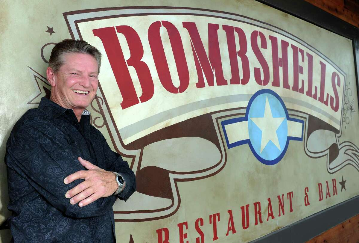 Propreitor David Simmons at Bombshells in Spring, TX. (Photo: Eric Christian Smith/For the Chronicle)