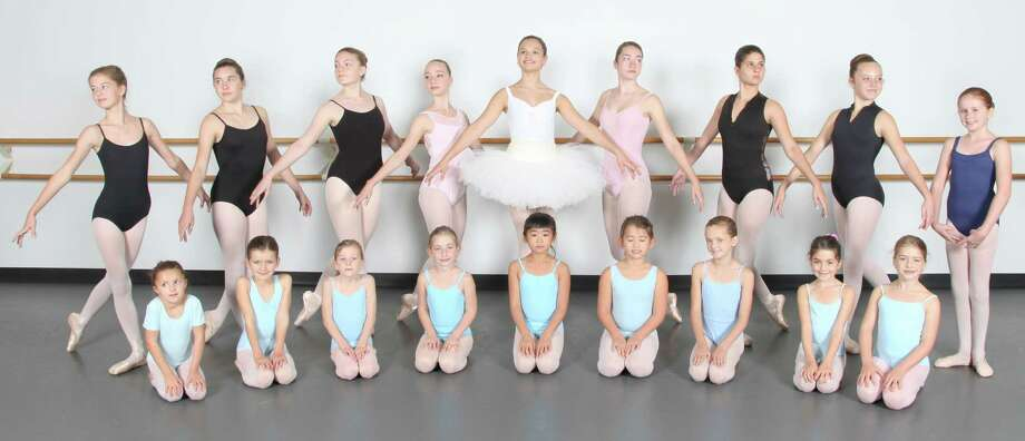 "These Westport ballet students are among a cast of 90 dancers who will perform in Ballet Etudes Company's production of ""The Nutcracker"" at the Westport Country Playhouse. A total of six performances are scheduled on Dec. 6, 7 and 13. Photo: Westport News/Contributed Photo / Westport News"