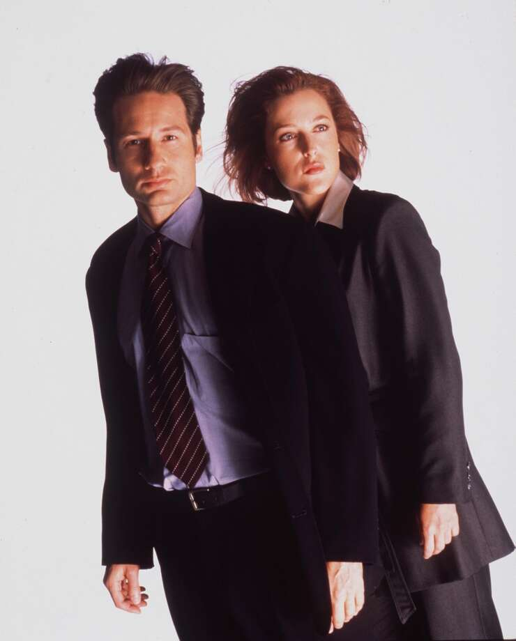 Quot the x files quot the real life scully and mulder are good friends now
