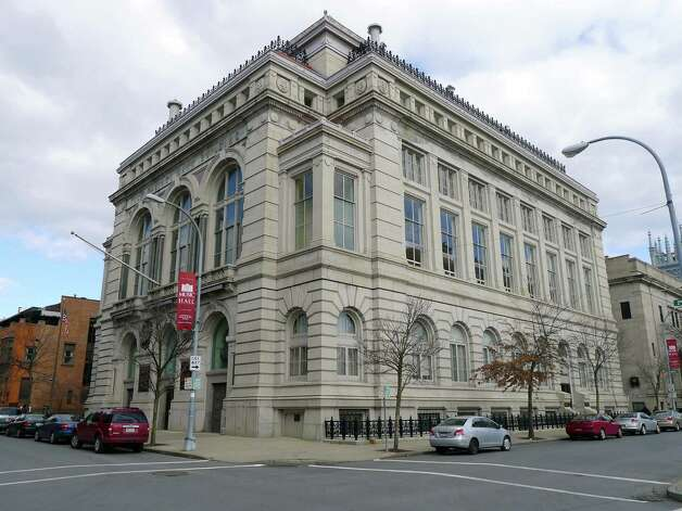 The former Troy Savings Bank main branch at 33 Second St. in Troy, acquired by First Niagara in early 2004, and home to the Troy Savings Bank Music Hall in Troy, New York Friday Feb.17, 2012. ( Michael P. Farrell/Times Union) Photo: Michael P. Farrell / 00016483B