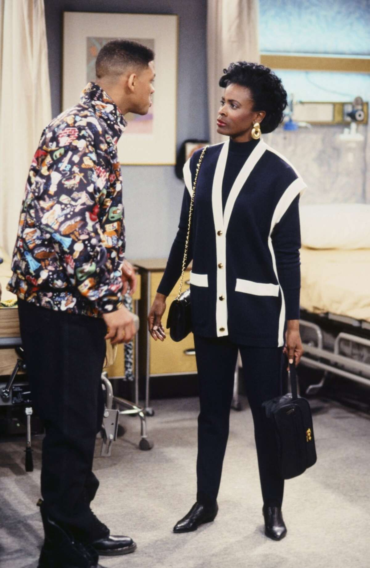 Will Smith and Janet Hubert,