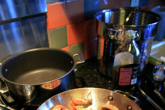 Roast Garlic Crab