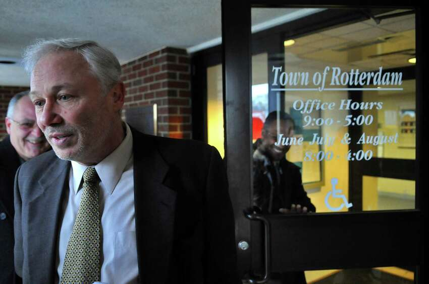 Rotterdam Supervisor Harry BuffardiHarry Buffardi outside of Town Hall Monday, March 21, 2011, in Rotterdam, N.Y. (Philip Kamrass/ Times Union archive)