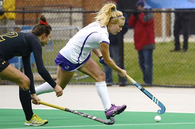 Laura Page of the UAlbany field hockey team (Beth Strauss / Special to the Times Union)
