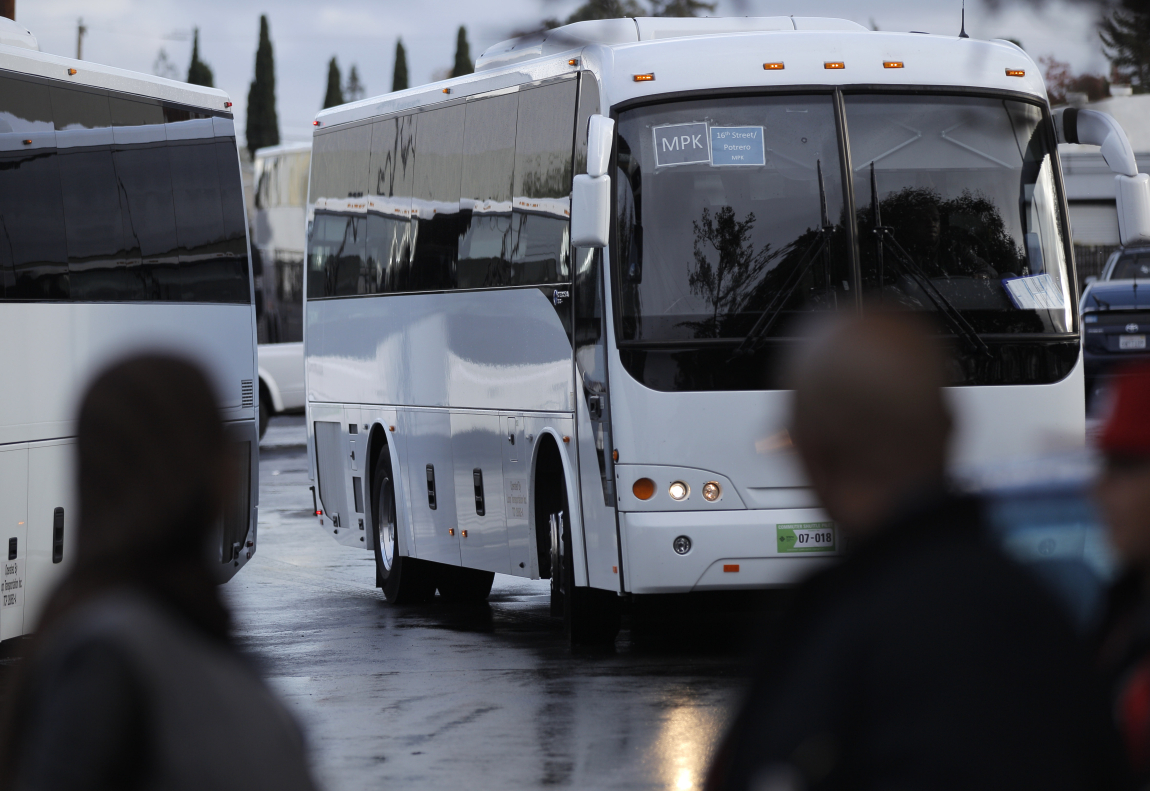 facebook shuttle drivers vote to unionize sfgate