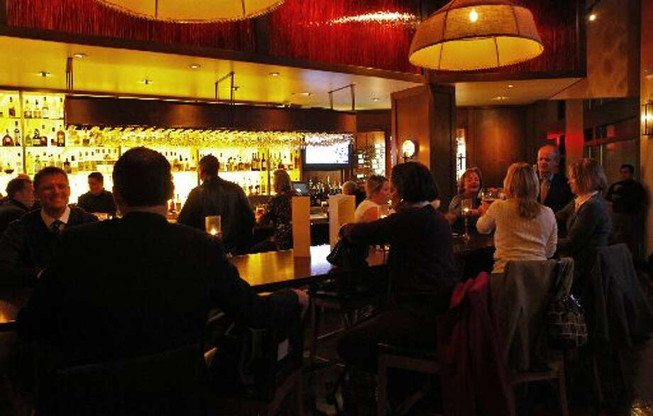 The bar at Pican. Photo: Lacy Atkings, The Chronicle 2009
