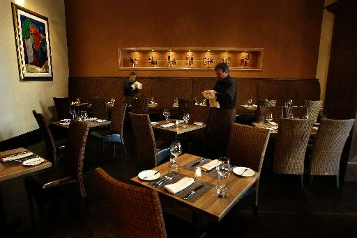 The dining room at Pican