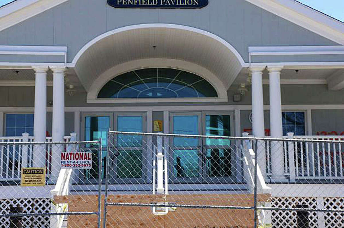 The Penfield Pavilion will be closed for another beach season next year as officials have devised a new repair plan for the sturcture, which has been closed since damage caused by Superstorm Sandy in October 2012.