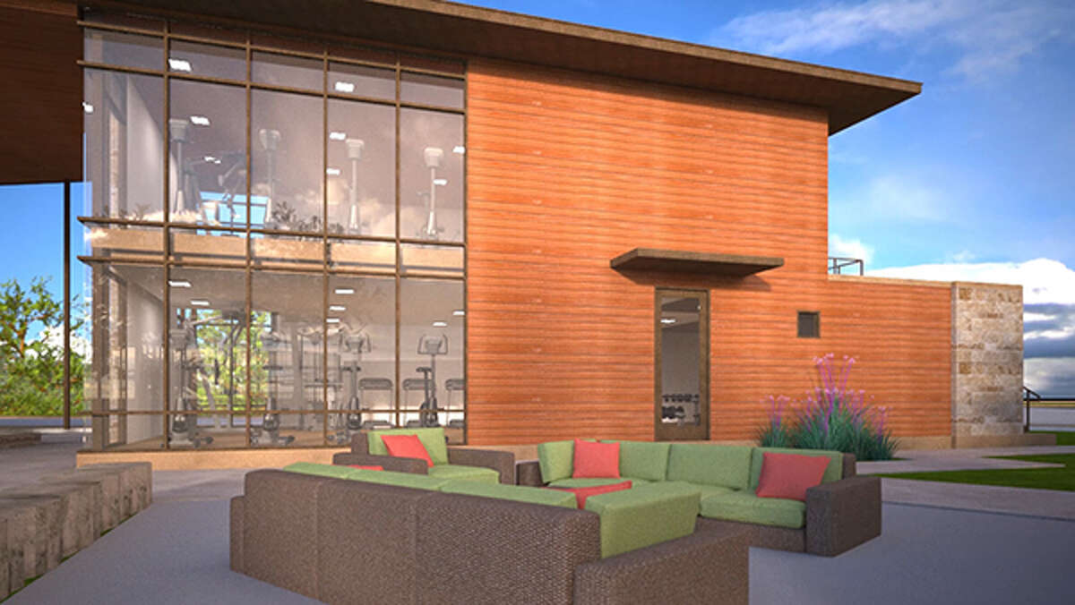 Cane Island will feature a fully equipped, two-story fitness center, a yoga studio and multi-purpose room with commercial kitchen.