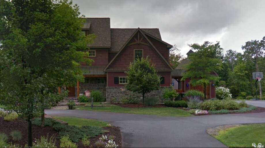5 Old Stone Ridge, Greenfield Center, $1.5 million. (Google) Photo: Hornbeck, Leigh