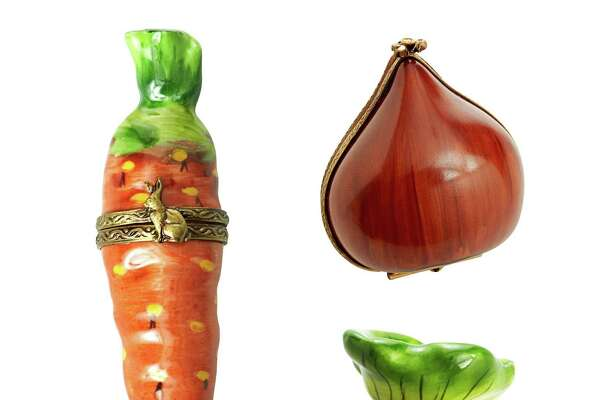 Porcelain Carrot, Chestnut, and Radish Boxes By Limoges. Carrot, $128; Chestnut, $177; Radish, $125. thecottageshop.com Beautiful Designer KitchensInside a Happy Family Home With Vivid Colors17 Easy Copper Projects For Every Room Of Your House60+ Beautiful Designer BathroomsThe 2015 Color Trends You NEED to Know NowA House With Seaside Glamour