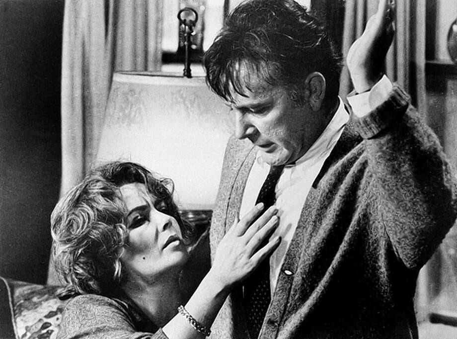 A middle-aged married couple uses alcohol to fuel abuse toward one another in this anti-romance starring Elizabeth Taylor and Richard Burton. Photo: Anonymous / Associated Press / Warner Bros.