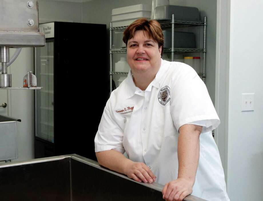 Susan Rigg is the owner of River Whey Creamery in Schertz, an operation focused on making artisan cheeses. Photo: Courtesy: River Whey Creamery / River Whey Creamery