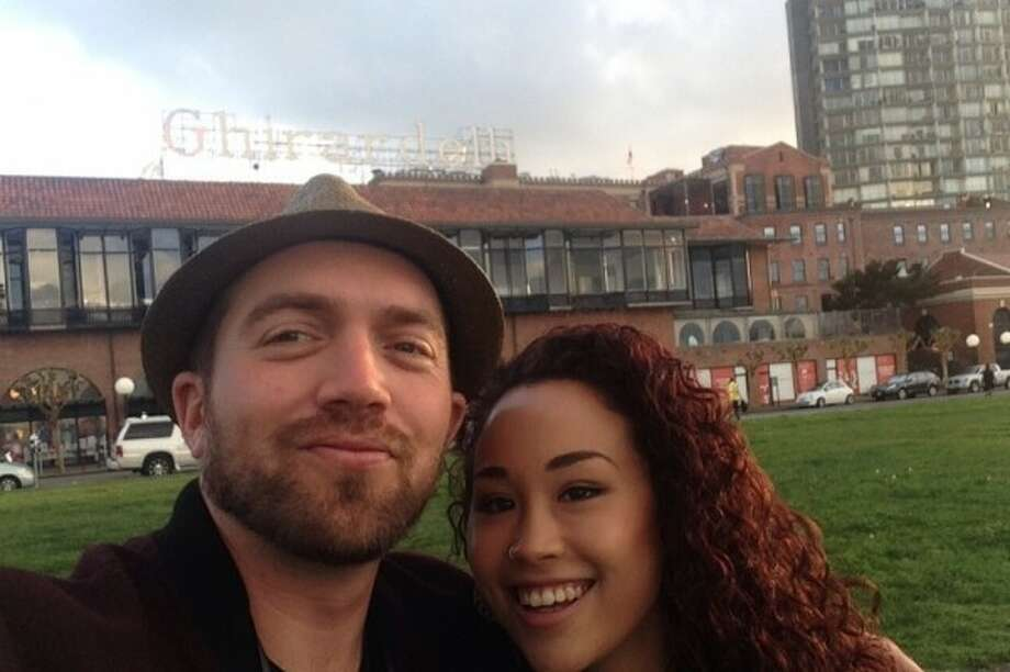 Ben Schwartz, 31, was seriously wounded when he askeda man to stop harassing his girlfriend in the Tenderloin on Saturday, Nov. 15, 2014. Photo: Courtesy / Miyoko Moody / ONLINE_YES