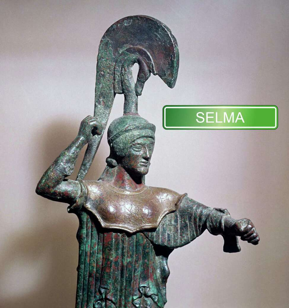 Selma is a German girl's name meaning