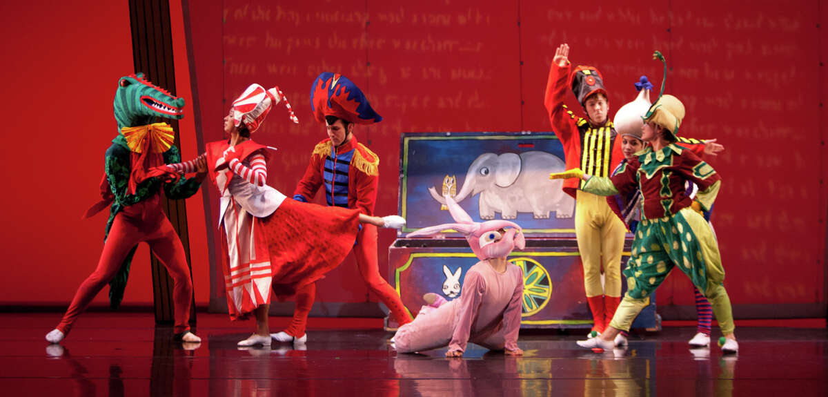 """The ODC dancers perform in """"The Velveteen Rabbit,"""" which opens the holiday season of family fare."""