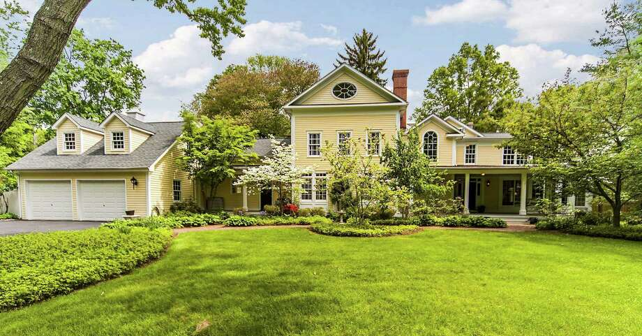 The property at 14 Harbor Road is on the market for $2,895,000. Photo: Contributed Photo / Darien News