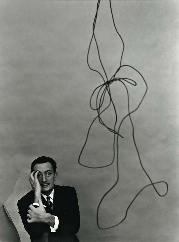 Arnold Newman, Salvador Dalí, painter, New York, 1951. Gelatin silver print © 1951, 16 ¾ x 14 ¾ in. Arnold Newman/Getty Images. Arnold Newman: Masterclass. On view October 23, 2014–February 1, 2015. Contemporary Jewish Museum, San Francisco. Photo: Contemporary Jewish Museum