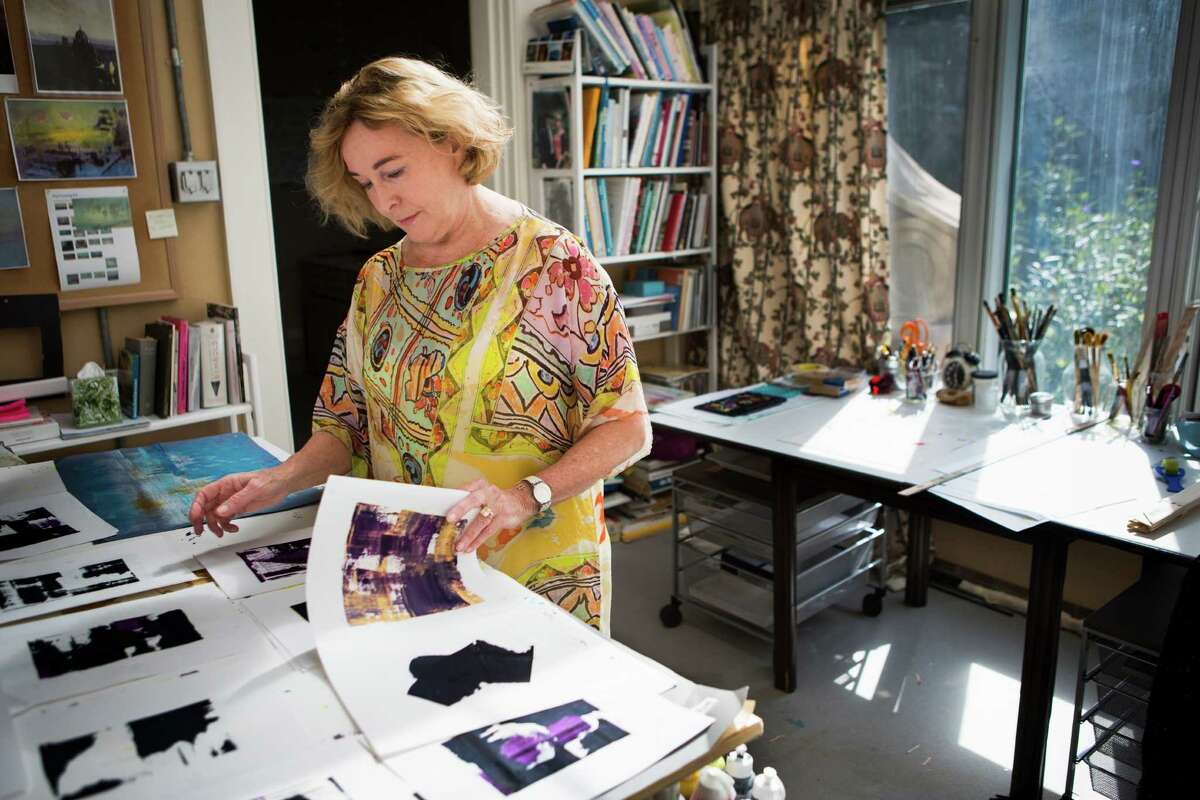 More than 50 of Barbara Hines' paintings inspired by Israel and the Torah have been exhibited at the Museum of Biblical Art in Dallas.