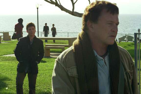"""Tom Berenger, front, and Kevin Connelly star in """"Reach Me."""""""