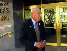 """Colorado state Sen. Rollie Heath, D-Boulder, discusses his party's loss of the chamber in Denver on Nov. 8, 2014. """"It's never easy to lose, but I think we can all look back and be very, very proud,"""" he said."""