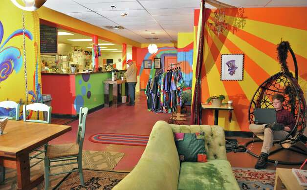 Interior of the Psychedelicatessen on River Street Tuesday Nov. 18, 2014, in Troy, NY.  (John Carl D'Annibale / Times Union) Photo: John Carl D'Annibale / 00029492A