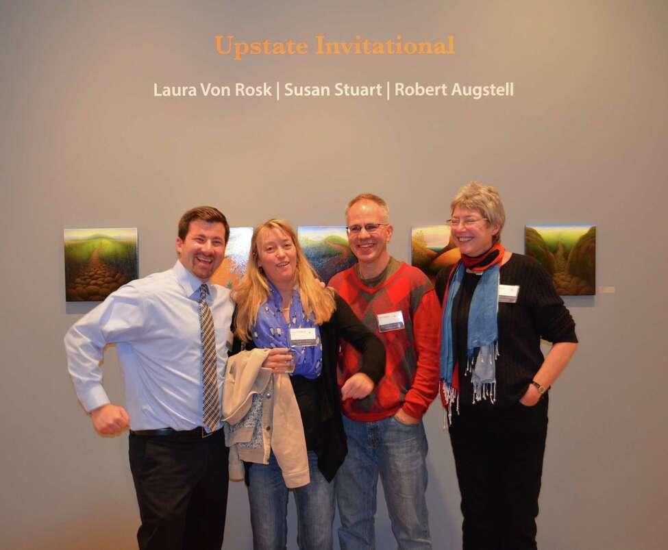Left to right: Erik Laffer, Laura Von Rosk, Robert Augstell, Susan Stuart. Photo by Helaini Zobel.