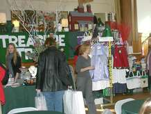 """Christmas on Round Hill,"" a traditional holiday fair, will take place on Dec. 6, from 10 a.m. to  4 p.m., at the Round Hill Community House in Greenwich. Pictured here is a fair from a previous year."