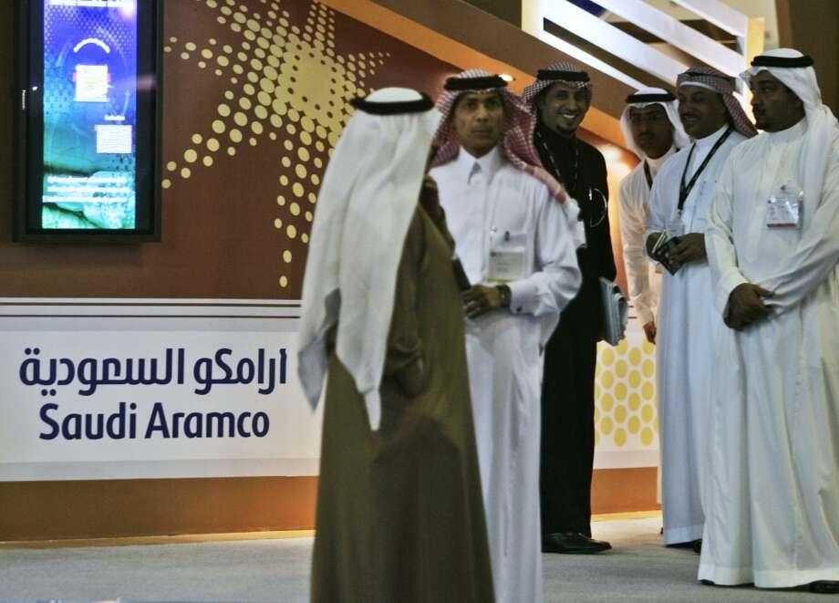 No. 1, Saudi Aramco Photo: Kamran Jebreili, AP