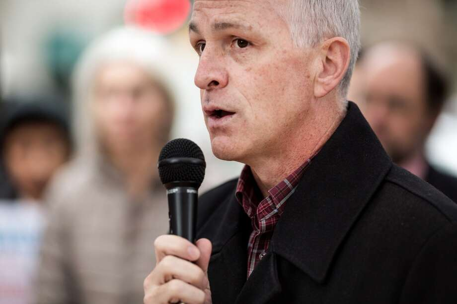 "U.S. Rep. Adam Smith, D-Wash., dean of Washington's congressional delegation.  ""We have to reach out to people who voted for Trump.  The assumption that people were out of their minds is incorrect."" Photo: SEATTLEPI.COM"