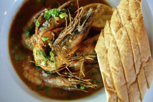 The New Orleans BBQ shrimp at The Cookhouse on Nov. 19, 2014.