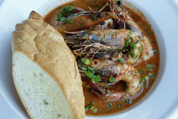 The New Orleans BBQ shrimp at Cookhouse