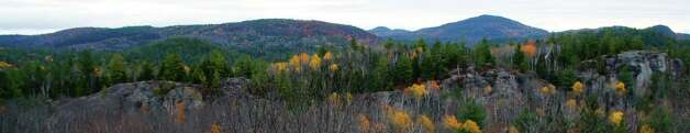 "Photo by Herb Terns. The ""wall"" near King Phillips Spring in the Adirondack High Peaks. Photo: Picasa"