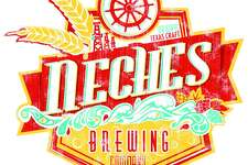 Lance LaRue's logo work for the forthcoming Neches Brewing Company