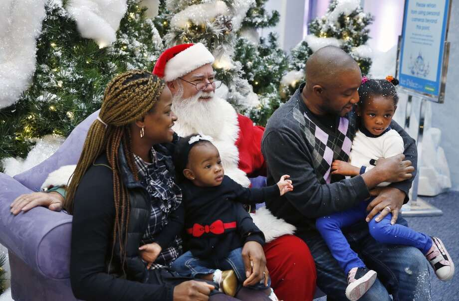 Thursday is your last chance to catch Santa at the Westfield Trumbull Mall. Find out more. Photo: Brennan Linsley, Associated Press