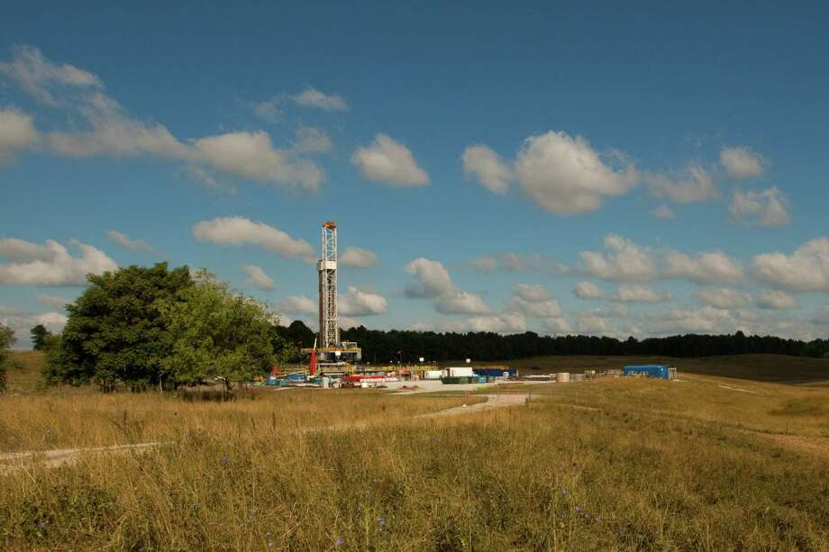 This is a Hess Corp. shale project in Utica, Ohio. / Copyright 2012