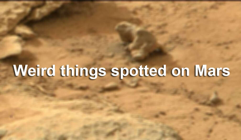 Weird things spotted on Mars. Photo: File Photo